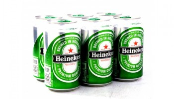 Pack 6 Heineken 25 CL